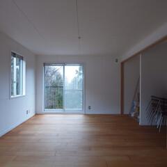 DIYを愉しむワークスペースのある.../リノベーション/リフォーム/戸建て/マンション/木/... ■ラワン合板フローリングとした多目的空間…