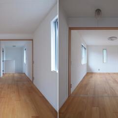 DIYを愉しむワークスペースのある.../リノベーション/リフォーム/戸建て/マンション/ホール/... ■一体的になるホール空間■  二階ホール…(1枚目)