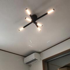 初投稿です/照明/LEDペンダント カンテ 新居にやっと照明が来ました!