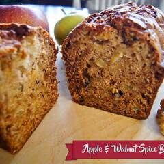 リンゴ/スパイス/パウンドケーキ/くるみ/スパイスブレッド Apple & Walnut Spice…