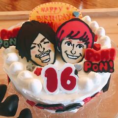 EXIT/誕生日ケーキ EXIT大好き娘のために妻が作りました。…(1枚目)