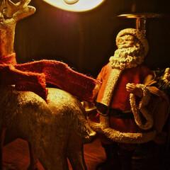 サンタクロース/クリスマス/クリスマス2019 サンタクロースアップで。(1枚目)