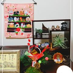 苔玉/簡単DIY/あけおめ/ハンドメイド/ダイソー/セリア こんにちは😌 「わたしの手作り」に投稿の…(1枚目)