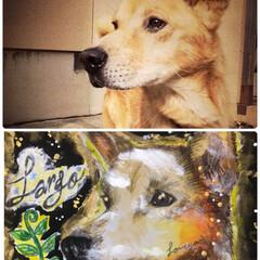 犬派 天国のラルゴの似顔絵を描いてもらいました…