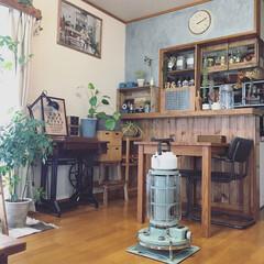 アラジンストーブ/賃貸/DIY アラジンストーブで お部屋がぬくぬくです…
