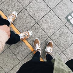 shopping/お買い物/神戸/スニーカー/靴/VANS/... 昨日は旦那さんと神戸へ🚗  お買い物に行…