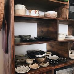食器棚DIY/漆喰/宇田令奈/rutawarawajifu/作家さんの器/うつわ/... 最近、温かいスープやお味噌汁が 美味しく…