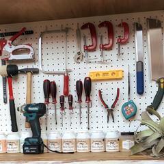 DIYグッズ/工具収納/有孔ボード/次のコンテストはコレだ!/DIY 『わたしのDIY道具』  みなさんが、D…
