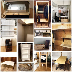 手作り家具/オーダーの品/DIYアドバイザー/ワークショップ講師/DIY 連投失礼します💦 スマホの画像整理をして…(2枚目)
