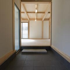 広い玄関土間 土間という空間は皆様はどの様なイメージを…