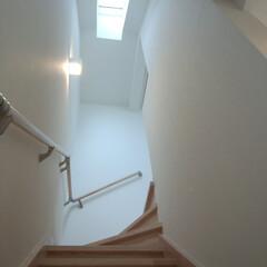 トップライト 階段室と各部屋との仕切りはありません。壁…