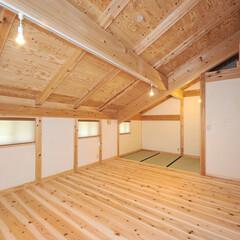 「外観の屋根と壁のバランスから屋根の高さを…」(1枚目)