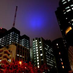 ビル/空/幻想的 ある日の新宿の空☆雲っていたからなのか……