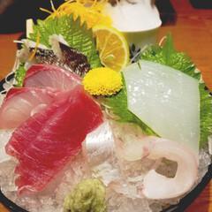 お刺身/グルメ/フード 新鮮なお刺身美味しかったです~😋👍