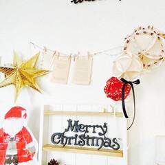 100均/キッチングッズ/オーナメント/クリスマス/クリスマスデコレーション/クリスマスグッズ/... キッチングッズを使ったクリスマスデコレー…