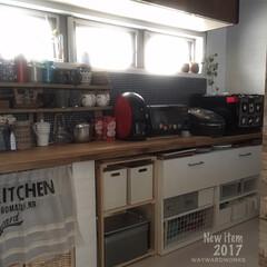 キッチン/収納/ニトリ/IKEA/100均/整理整頓/... キッチンの収納を見直すのに、IKEAの棚…