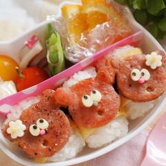 スパム/おにぎり/スパムおにぎり/お弁当/スパムおにぎり弁当/沖縄料理/... 娘のお弁当にスパムおにぎりを。 あたまに…