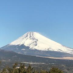 富士山/晴天 本日も晴天☀️ 綺麗な富士山が見えます🗻…