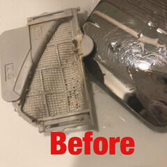 お掃除/清掃/クリーニング/laku/キッチン/洗面所/... ウォシュレットのフィルターのお掃除。  …(2枚目)