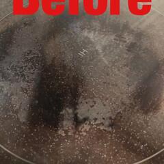 お掃除/清掃/ピカピカ/キッチン/お風呂場/トイレ/... 今日はお客様のキッチン、IHコンロの汚れ…(2枚目)