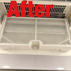 お掃除/お風呂場/キッチン/洗面所/トイレ/清掃グッズ/... お風呂場の浴室暖房乾燥機フィルターのお掃…