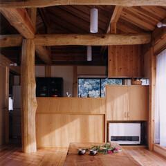 木の家/木/国産材/自然素材/漆喰/丸太/... マツザワ設計では建て主さんの希望に合わせ…