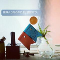 鯉のぼり/革細工/革小物/レザークラフト/雑貨/ハンドメイド/... 屋根より明らかに低い鯉のぼりを作ってみま…