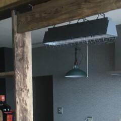 リフォーム/リノベーション/キッチン/照明/レトロ/インダストリアルインテリア/... 戸建住宅キッチンのリフォームの画像です …