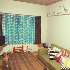 子ども部屋/子ども/100均/インテリア/家具/住まい/... 子ども部屋🐘  なるべくすっきりさせたい…