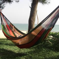 ハンモック/hammock/ムラブリハンモック 南の島に天国はある  ここは沖縄名もなき…