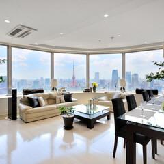 高級/明るい/キッチン移設/ホームパーティ/東京タワー眺望/富士山眺望 明るくて居心地の良い空間にしたい。その一…