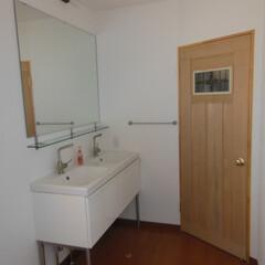 IKEA/オリジナル建具 洗面脱衣室 オリジナル建具 イケア洗面