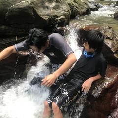 大自然/沖縄県/ター滝 昨日ゎ沖縄の大宜味村にある ター滝へ彼氏…