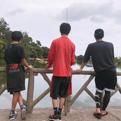 濃い1日🌺/沖縄/こどもの国/こどもの日/GW/ゴールデンウィーク GW🕺🕺 弟2人を連れて、彼氏と4人で …