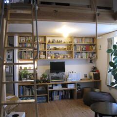 木造3階建て/3階建て/国産木材/木の家/漆喰/和紙/... 桜上水の木造3階建ての家。3階居間です。…