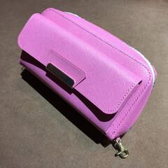 財布/大型財布/ピンク 大型財布の外観(1枚目)