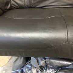 革/ソファ/リペア/修理/色替え/レザー 革ソファリペア後 革の張りも出ました 新…