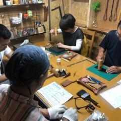革教室/ハンドメイド/レザー/革小物/教室 革教室 革好きさん 是非 自分のオリジナ…