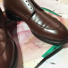 靴/靴擦れ/靴傷/革靴/リペア/修理 靴擦れのリペア後 革靴でしたら リペアは…