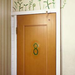 ドア/ペイント/壁画/森/カントリー 8番目の海へと続く扉……ここもまた物語の…