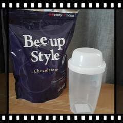 Bee up Style Chocolate風味 | Bee up Style(ソイプロテイン)を使ったクチコミ「新ボディーメイクプロテイン『ビーアップス…」