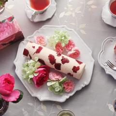 庭/ガーデニング/生花/ナチュラル/装飾/デコラティブ 日比谷花壇オリジナルのこだわりの食用バラ…