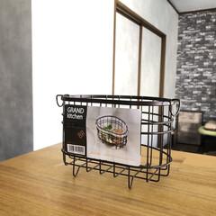 フォロー大歓迎/ホームセンター/コーナン/シンク/ゴミ箱/生ゴミ入れ/... コーナンで買ったシンク用の生ゴミダストボ…