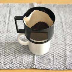 セリア/おうちカフェ/100均カフェ/コーヒードリッパー/キッチン雑貨/ランチ/... 以前紹介したこのセリアのコーヒードリッパ…