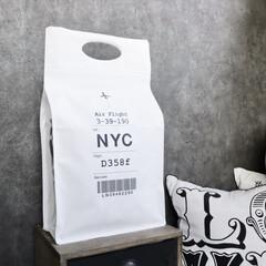 フォロー大歓迎/100均新商品/便利アイテム/ダイソー/100均/収納/... シューズ専用のバッグ、ダイソーさんで見つ…