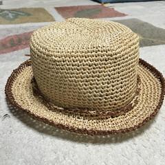 エコアンダリア/ハット これからの暑い夏にぴったりのカンカン帽 …