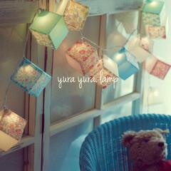 リバティ/ランプ 可愛い花柄リバティと、パステルカラーのコ…