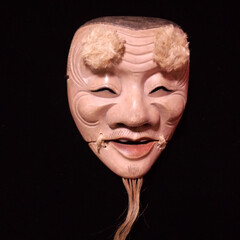 伝統/能面/翁/能楽/狂言/木彫/... 能面・翁(おきな) 五穀豊穣や心の豊かさ…