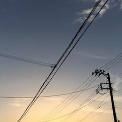 夕焼け空 今日も一日暑かったあ😅