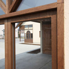 屋根/茨城/ナチュラル/モダン/ビンテージ 外形を反映した内部では、どの部屋も異なる…